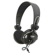 SH808 Over-ear Bass Stereo Sound PC Headphones Headset Earphone 3.5mm Wired for Computer Laptop with Microphone(China)