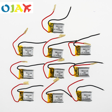 10pcs 3.7V 150mah 20C Lipo Battery For RC Syma S107 S107G S107-19 Skytech M3 Airplane Helicopter Drone battery 651723