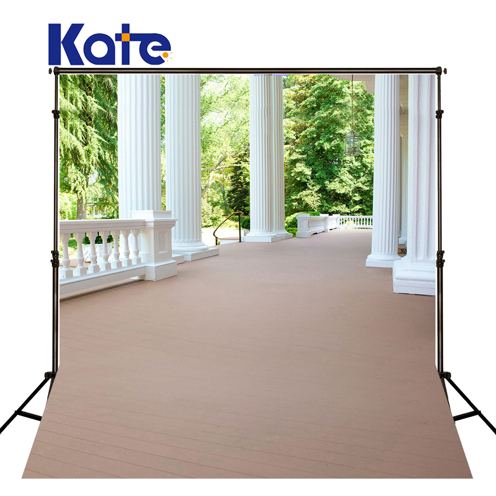 300Cm*200Cm(About 10Ft*6.5Ft)T Background Pillars Willow Trees Photography Backdropsthick Cloth Photography Backdrop 3204 Lk<br>