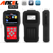 code readers scan tools sas abs airbag reset ancel ad610 engine analyzer obd2 car diagnostic tools mechanics automotive scanner(China)