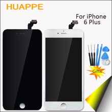 Grade AAA 100% Work No Dead Pixel For Apple iPhone 6 Plus LCD 5.5 inches Display Touch Screen With Frame High Quality Definition