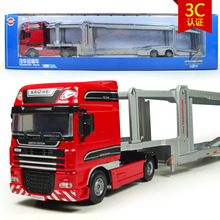 free shipping high quality 1:20 kaidiwei brand Engineering Vehicle model Wholesale toy car similar as siku-big transport truck