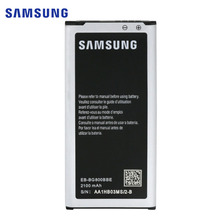 Original New Samsung Battery For Samsung Galaxy S5 Mini G800F G800H EB-BG800BBE NFC 2100mAh