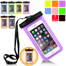 PVC Waterproof Diving Bag Underwater Pouch Case For Sony Xperia Z2 L50 Z3 L55T Z4 Z5 E6603 Z5 Plus Z1 Mini Z3 Mini T3 M50W M