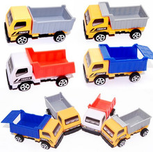 3pcs/lot Engineering vehicle autotruck for kids toys gift transport machine sliding car truck model children's educational toys