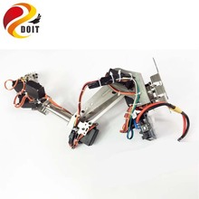 Original DOIT DoArm S7 6 7 DoF Stainless Steel Metal Robot Arm/hand Robotic Manipulator ABB Arm Model Claw for Arduino WiFi kit