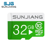 green micro sd card TF card Class6 4GB 8GB 16 GB 32 GB 64GB memory cards Flash Memory Microsd microSDHC UHS-I Hot Gift  friend