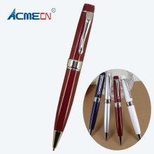ACMECN Hot sale Rotating retractable Ball Pen 31gram Metal Heavy Ball Pen for Office and School StationeryMB Style Ballpoint Pen