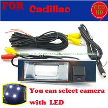 for Cadillac Seville SLS car auto rear view reverse parking camera wired wireless with LEDS night vision wide angle camera(China)