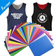 PU heat transfer vinyl factory wholesale  A4 size 12colors high temperature for clothing