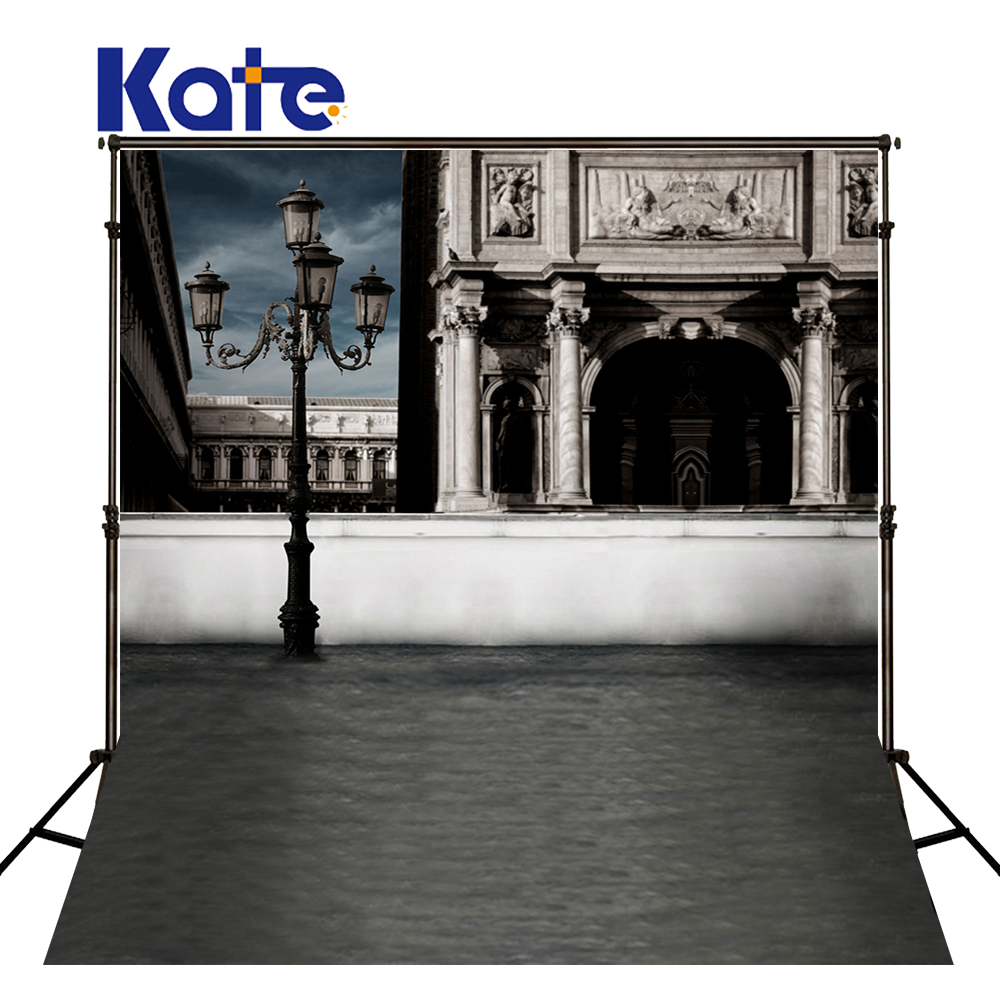 300Cm*200Cm(About 10Ft*6.5Ft) Fundo Streetlights Building Walls3D Baby Photography Backdrop Background Lk 1957<br>