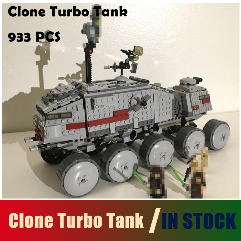 Compatible with lego 933Pcs Star Wars Clone Turbo Tank 75151 Building Blocks STAR WARS Toy 05031 Boys Toys Gift<br>