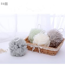 Large Scrubber Sponge Flower Exfoliating Body Brush Puff Bath Soft Foaming Net Shower Mesh Ball QDD9019