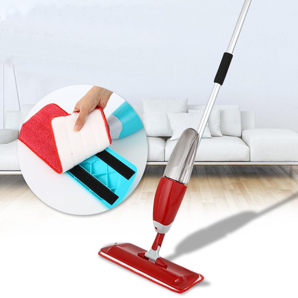 floor mop Practical Household Dust Cleaning Spray mops floor cleaning durable Home Office Hotel microfiber mop head washable(China (Mainland))