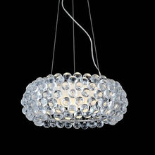 Caboche Chandelier Clear Transparent / Amber Acrylic Ball Pendent Lamp led acrylic ceiling Lamp Hanging Light Restaurant