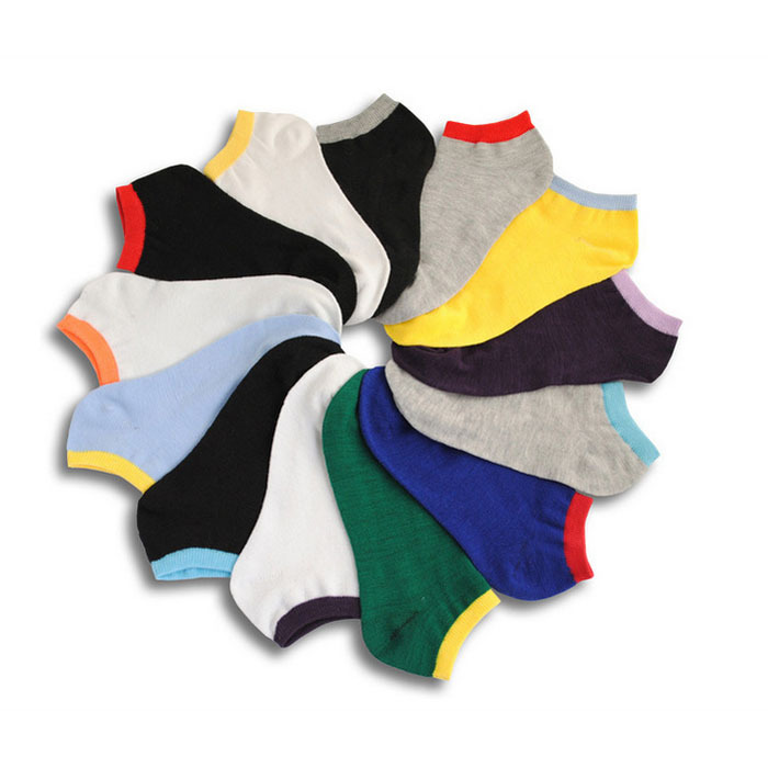 2018 New Men's socks Spring and summer casual fashion male socks invisible shallow mouth thin standard size 10pairs/lot