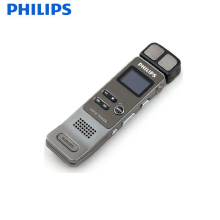 PHILIPS Digital recording pen 8GB Brand Spy Mini Clip USB Flash Digital Audio Voice Recorder Dictaphone Pen Drive Silver