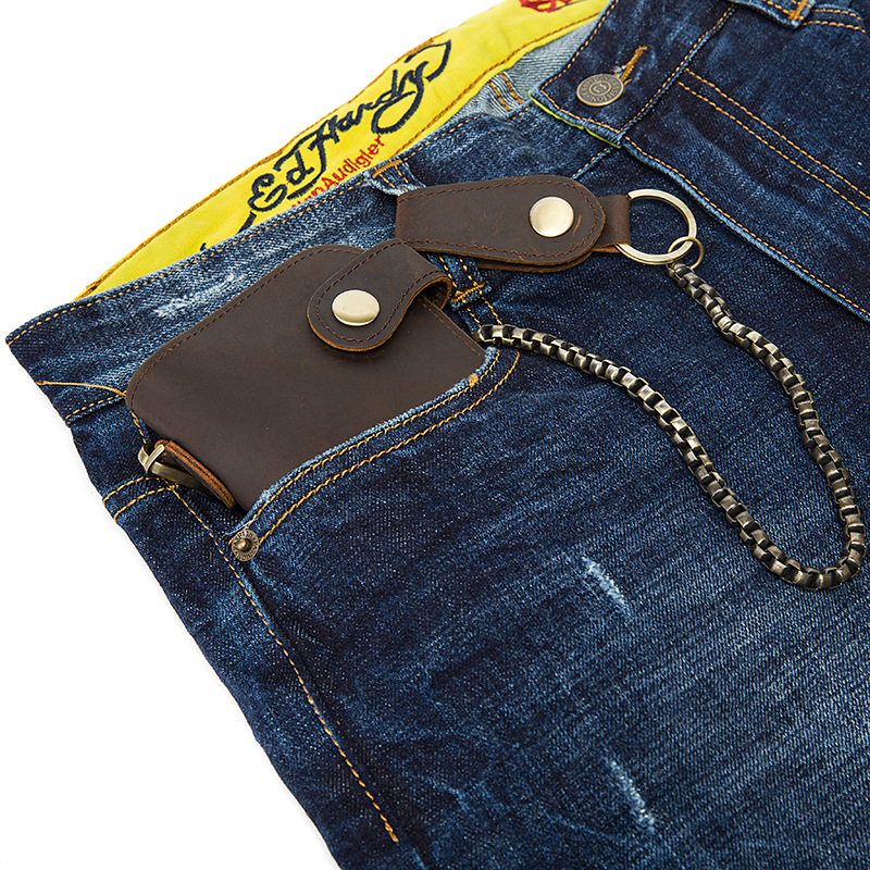 chain leather men wallets (15)