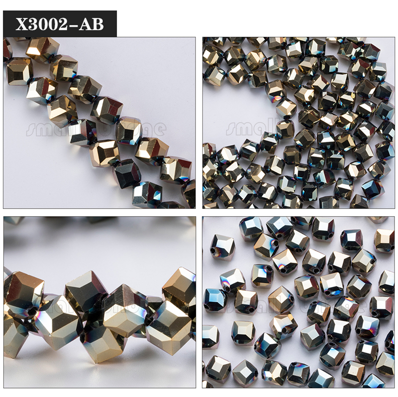 Square Glass Beads (3)
