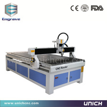 UNICHCNC XYZ axis TBI ball screw tranmission advertising cnc router(China)