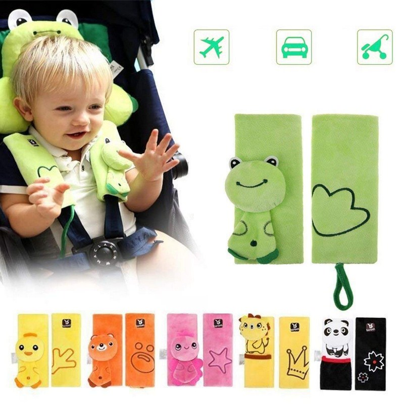 Baby Car Seat Safety Belt Strap Cover Pad Stroller Accessories Safety Shoulder Pad Kids Protection Cover Belt Car-Cover (5)