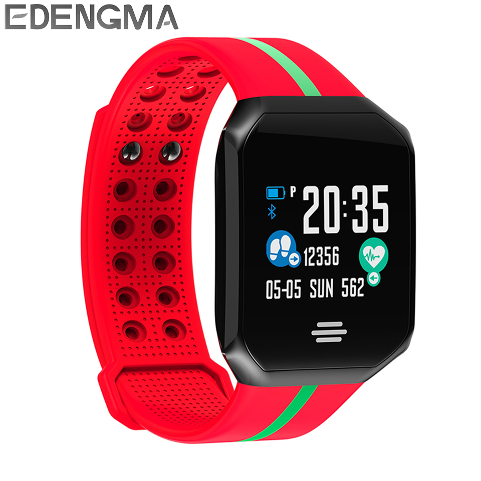 B07 Smart Wristband 1.0 inch TFT Sports Fitness Monitor Blood Pressure Oxygen Automatic Monitoring for Android IOS PK MI band 3