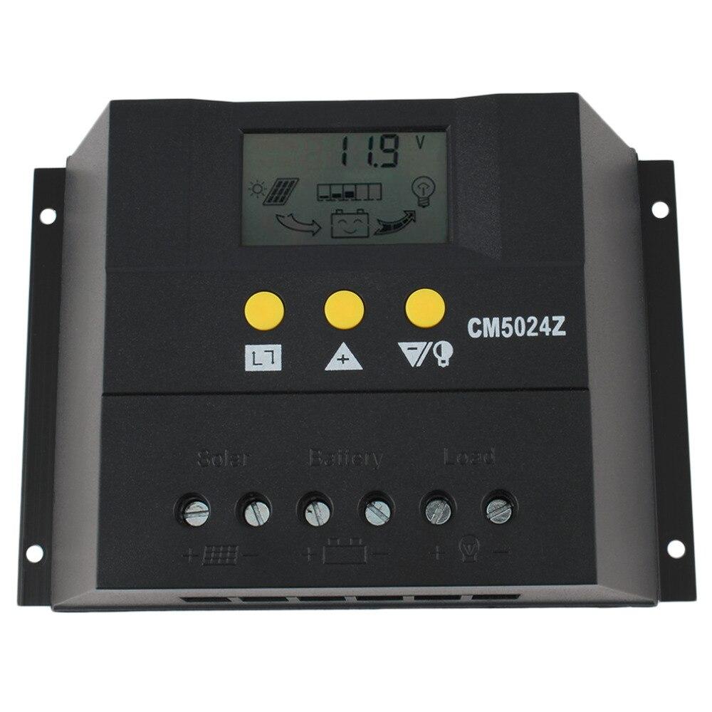 50A 12-24V/48V Solar Regulator Solar Charge Controller LCD Solar Genetator BEST<br><br>Aliexpress