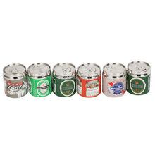 1pc Pop Can Shaped Herbal Herb Tobacco Grinder Smoke Crusher Hand Muller Magnetic Hot sale wholesale price in stock(China)
