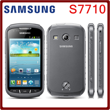 S7710 Original Unlocked Samsung Xcover  2 S7710 1700mAh 5MP GPS WIFI 4.0 Touchscreen Cellphone Free Shipping