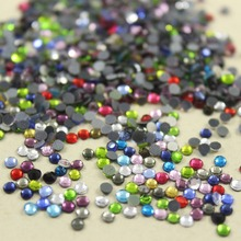 Promotion! Fast drilling 2500pcs/lot SS10 about 3mm hotfix rhinestone Hot drilling flat back  DIY clothes/garment accessory