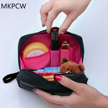 2017 The new Cosmetic Bag Professional Toiletry Bags Travel Makeup Case Beauty Necessaries Make up Storage Beautician Box(China)