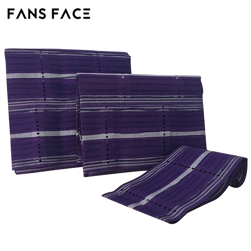 FANS FACE 2017 African Traditional ASO OKE For Women 3pc/Bag Orignal Nigeria Beautiful Headtie afro GELE Headscarf afrikanische <br>