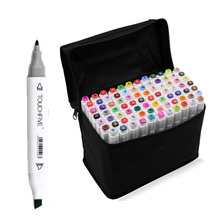 40 PCS Touch Marker Pen Set Drafting Supplies Animation Drawing Oily Alcoholic Dual Headed Sketch Marker Graphic Manga Design