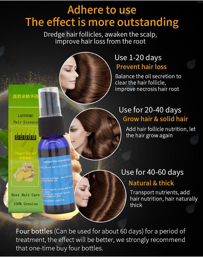 Y&W&F Fast Growth 30ml yuda pilatory spray anti Baldness hair care hair loss treatment beard oil growing facial hair