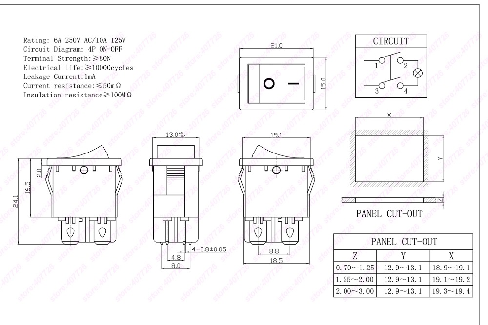 detail feedback questions about 3pcs 4pin rocker switch power startif you need other kinds of rocker switch you can ask me online~