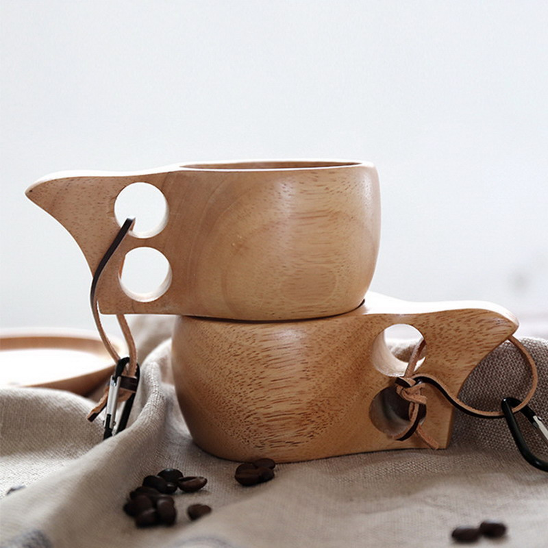 60pcs-lot-Kuksa-Cup-New-Finland-Handmade-Portable-Wooden-Cup-for-Coffee-Milk-Water-Mug-Tourism (5)