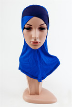 DD11 wholesale Two color Crossover muslim underscarf comfortable fashion hijabs underwear  headband  scarves