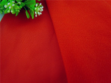 5 meter Red fabric for DIY sewing Stuffed toy sofa furniture material Warp knitted brushed Plain Loop velboa velvet