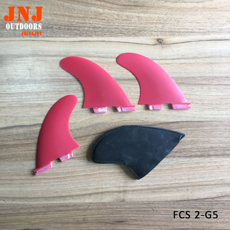 CNC shaped FCS 2 Fin RED Fibreglass fcs ii G5 Surf Board Quilhas Fins FCSII Fins in Surfing <br><br>Aliexpress