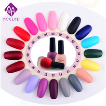 BK 20 Colors Colorful Long Lasting Matte Nail Polish Liquid Gel Nail Polish DIY Nail Art Tool for Women Girls