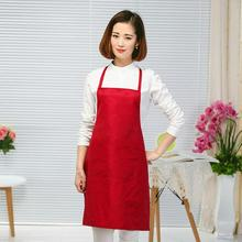 New Hot 60*70cm kitchen Cooking home use apron for restaurant canteen factory daily cleaning antistain antidust polyester apron