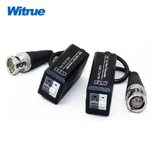 Witrue 10pairs/lot video balun for AHD/HDCVI/HDTVI Twisted BNC CCTV Video Balun UTP Balun BNC Cat5 CCTV UTP Video Balun(China)