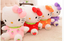 30cm hello kitty plush, toys for children kids baby toy cat animal stuffed doll for girl big hello kitty stuffed animal(China)