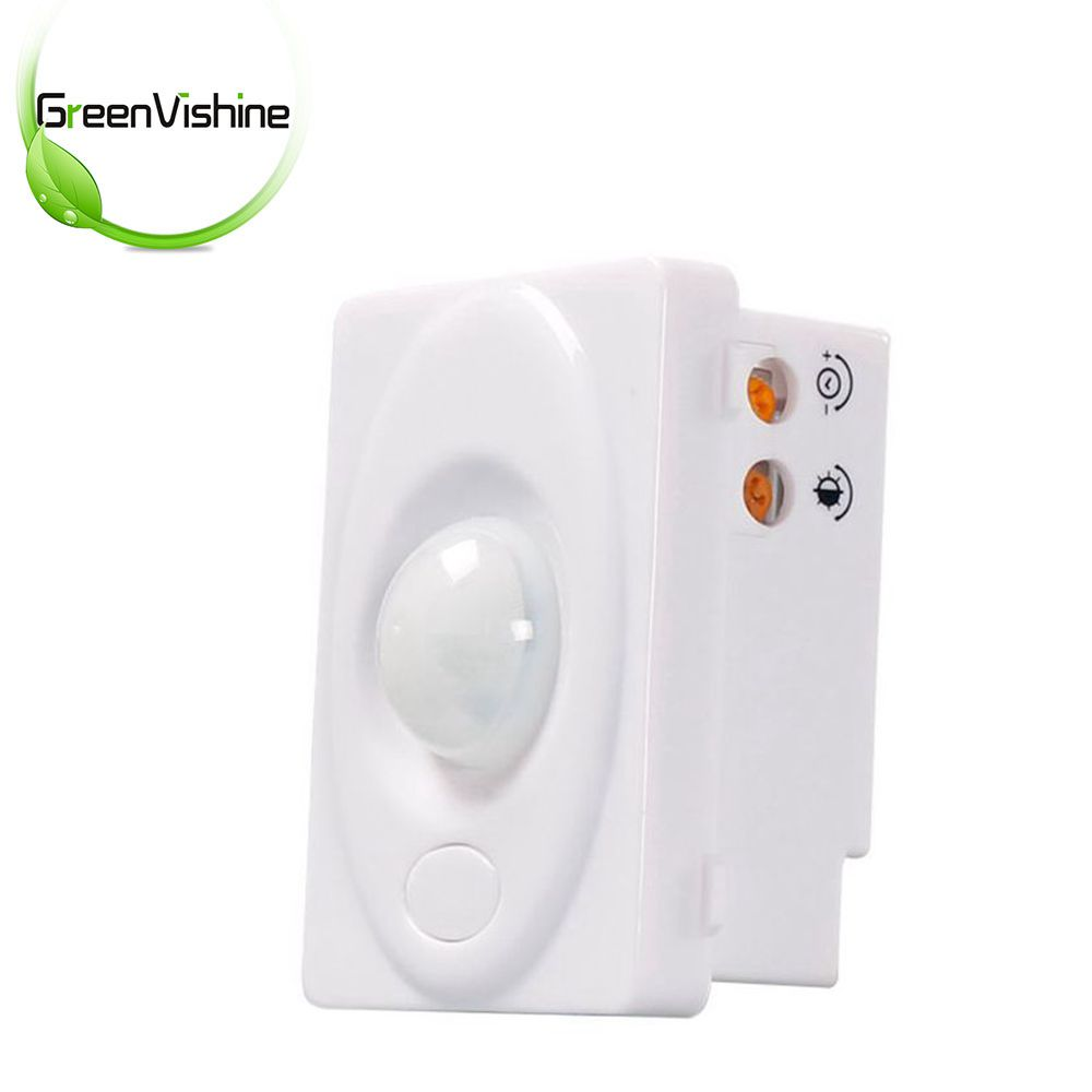New Design Mini 3 Wire Infrared Human Body Automation Walling PIR Occupancy Motion Sensor Switch(China)