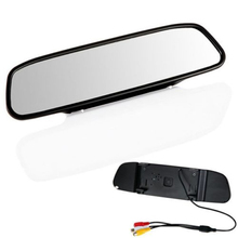 "4.3""LCD Lens Car DVR Rearview Mirror Camera Full High Definition 1080P Parking Night Vision Dash Cam Video Recorder"