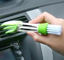 3pcs/set Multifunctional vehicle Air Conditioner Duster Cleaning brush Window Blinds Brush Window Wizard Cleaner keyboard brush(China)