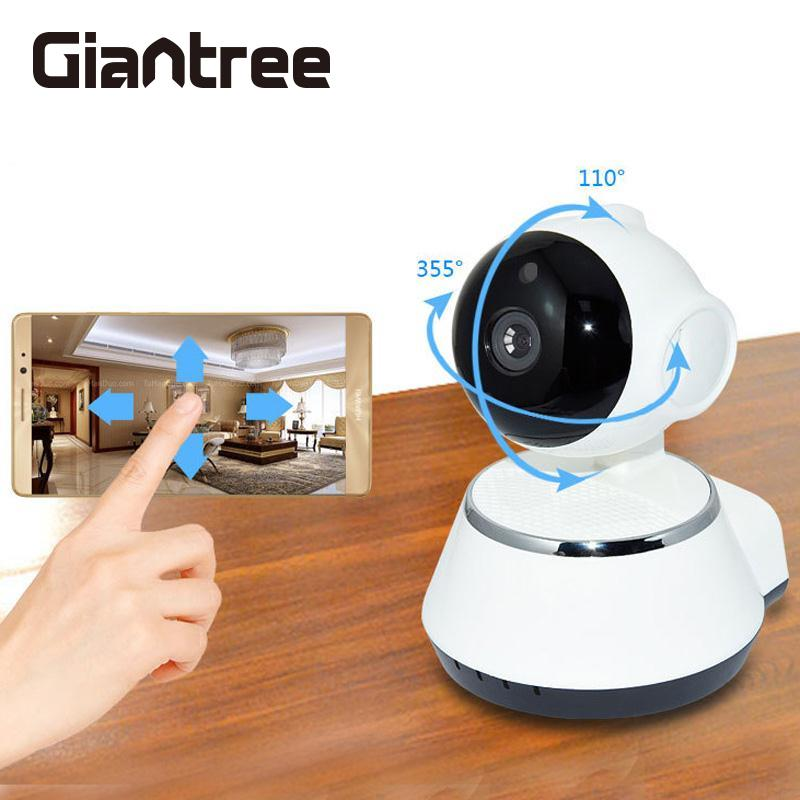 giantree 100 million pixels HD WiFi Camera Wireless baby monitor safe Surveillance IP Camera CCTV Network Camera IR Night Vision<br>