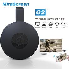 Mirascreen Mini TV Stick G2 HDMI Android TV Stick Dongle Wireless WiFi Display Receiver DLNA Airplay Miracast Chromecas IOS(China)
