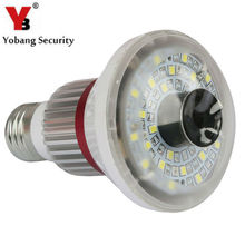 YobangSecurity Bulb Light Wireless WiFi AP P2P IP Network DVR CCTV Security Camera Nanny Surveillance Camera With 5W Led Light