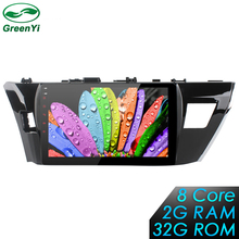 2G+32G 10.1 inch 8 Core Android 6.0 Car Radio DVD player GPS For Toyota Corolla 2014-2015 Multimedia Navigation Head Device(China)